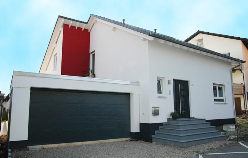 Einfamilienhaus fie whb wiesloch for Einfamilienhaus mit doppelgarage